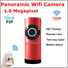Panoramic Wifi Fisheye Camera P2p