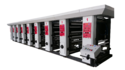 2 Color Rotogravure Printing Machine