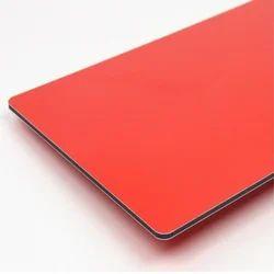 Red Aluminium Composite Panel (ER 107)