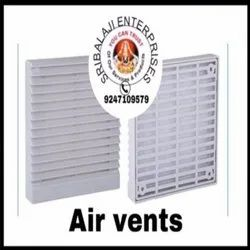 FTC make Grey Air Vents( Panel Fan Filter), For Industrial Use, Capacity: Plastic