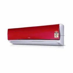 Red LG 5 Star Split Air Conditioner