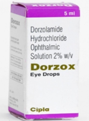 Dorzox Allopathic Drozolamide Hydrochloride Ophthalmic Solution Eye Drops, Packaging Type: Box, Packaging Size: 5 mL