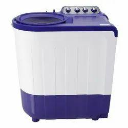 Top Loading 7.5kg Oraa Semi Automatic Washing Machine, White And Blue