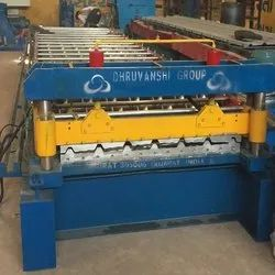 Single Layer Roof Panel Roll Forming Machine