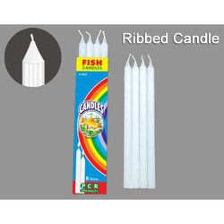 Ribbed Candles
