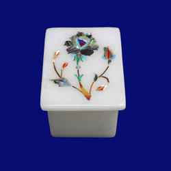 Pure Marble Inlay Box