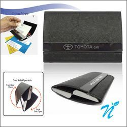 Dual Side Opening Visiting Card Holder NICP-1121