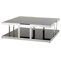 Rectangular Stainless Steel Coffee Table for Restaurant