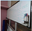 Non Ceramic Magnetic White Board
