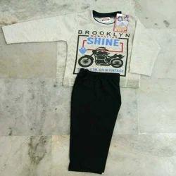 Cotton Unisex Kids T Shirts Set