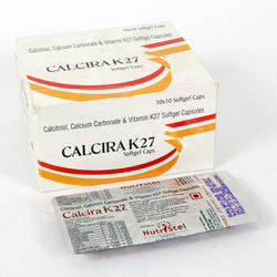 Calcitriol Calcium Carbonate. Vitamin K 27 Capsules