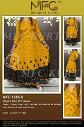 MFC-1584B RAYON 1 PCS GOWN