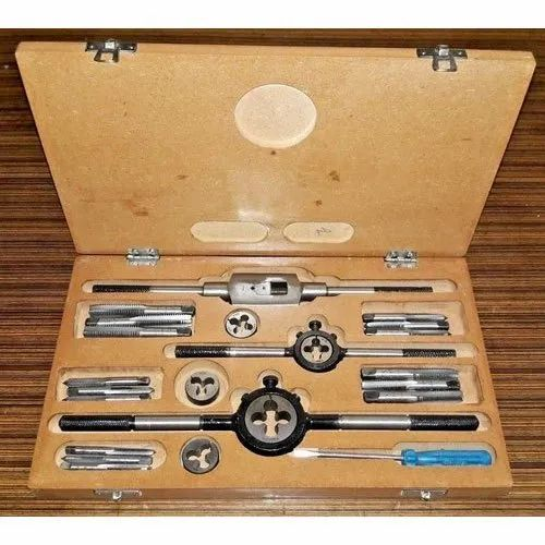 """COMPLETE Box BRAND NEW HEAVY DUTY TAP AND DIE SET 1//4 TO 1/"""" BSW"""