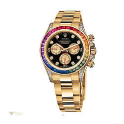 Luxury Rolex Watch Rainbow Diamond Watch