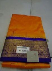 Kanjiwaram Pure Silk Saree Q