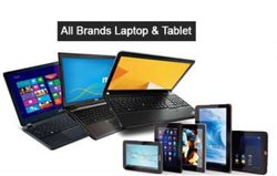 Available Black Laptop And Tablet