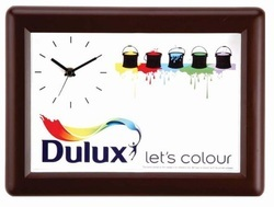 Analog Plastic Rectangle Wall Clock, for Office, Size: Small, Medium, Large