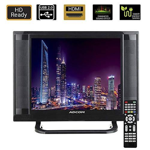 Onwijs Adcom 38.1 CM (15 Inch) 1512 Ready LED TV with Smart Saving (Black MJ-82