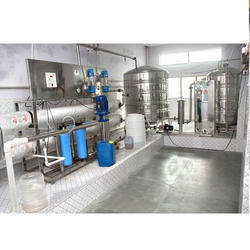 Automatic Packaged Drinking Water System
