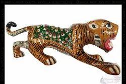 Metal Tiger Meena Work