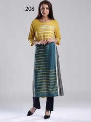 Long Ladies crepe Kurti
