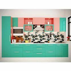 Colorful Modular Kitchen
