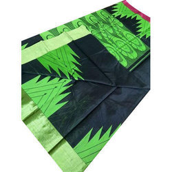 Party Wear Silk Saree, 5.5 M (separate Blouse Piece)