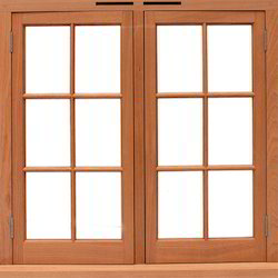 Solid Wood Window
