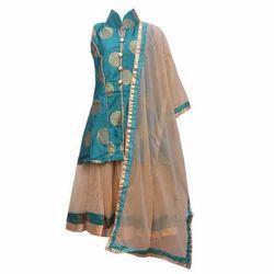 Girl Kid Modern Indo Western Dress