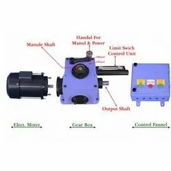 Gear Mount Motor for Gear Type Rolling Shutters