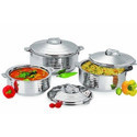 Silverline Stainless Steel Hot Pots, For Home