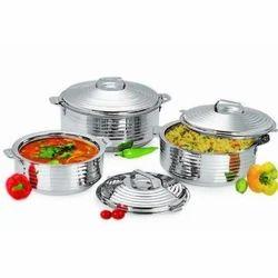Silverline Stainless Steel Hot Pots