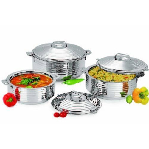 Silverline Stainless Steel Hot Pots