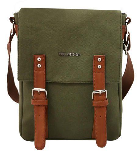 Army Green Plain Men Women Canvas Messenger Sling Bag, Size  13 X 10 ... c33ab3e967