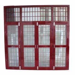 Square Mild Steel Window