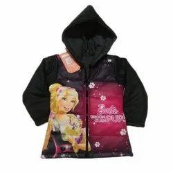 Cotton Regular Wear Girls Reversible Jacket, Size: 20 to 30