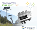 Grid Connected Solar Street Light