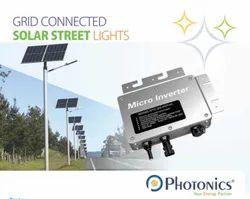 Grid Connected Solar Street Light