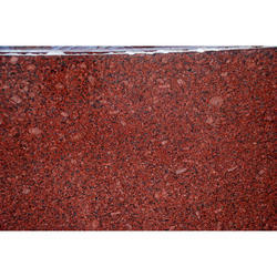 Ruby Red Granite Slab, 5-10 Mm