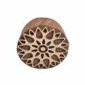 Designer Floral Pattern Wooden Henna Printing Blocks
