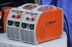 Semi-automatic Great Yuva Welding Machine 300 Amp Water Proof, 7.5 KVA