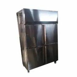Commercial Steel Four Door Vertical Refrigerator