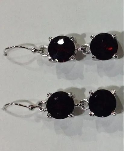 e9375070983bf Sterling Silver Rhodium Hanging Earring