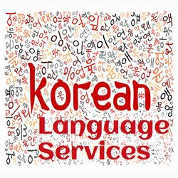 Korean Translation Services in Delhi, कोरियन