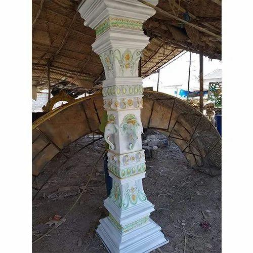 Sandstone Decorative Pillar for Decoration