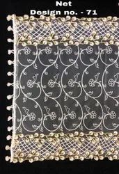 White Net Embroider Dupatta