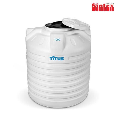 White Sintex Titus Triple Layer Water Tank