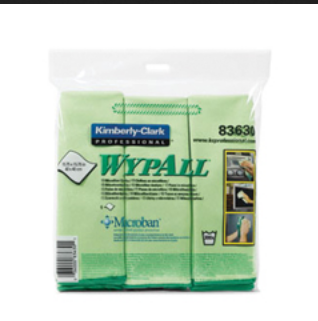 83630 Microfibre Cloths With Microban Protection