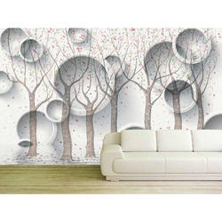 Pvc Printed 3d Wallpaper Rs 100 Square Feet Bombay Commercial