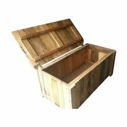 Wooden Plywood Pallet Storage Box